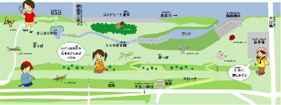 右岸側(原っぱ広場)