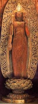 木造 観世音菩薩立像(県指定文化財)