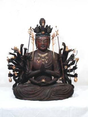 木造千手観音坐像(県指定文化財)