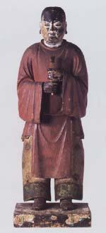 木造聖徳太子立像 (県指定文化財)