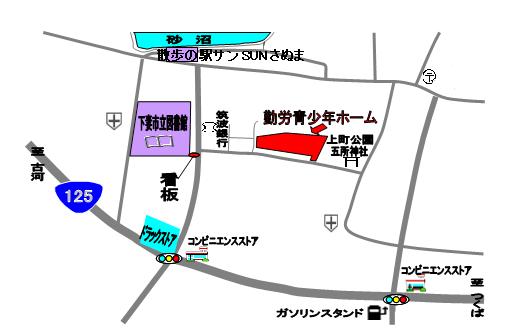 ホーム案内図