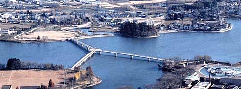 砂沼大橋 写真1