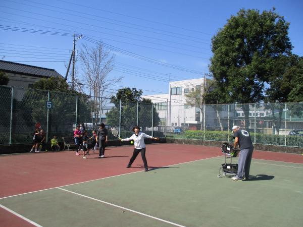 テニス教室2