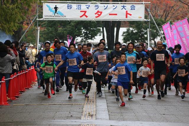 H27砂沼マラソン大会3