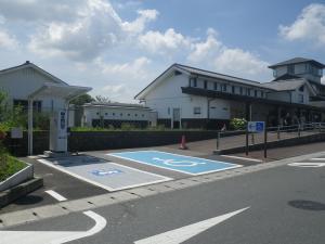道の駅 EV充電器設置位置
