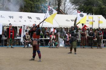 姉妹都市「福井県あわら市」も参加し、第13回多賀谷時代まつりを開催