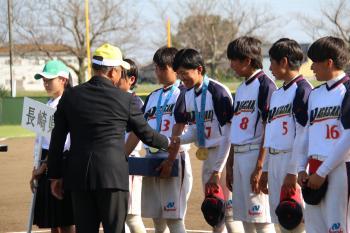 茨城国体ソフトボール競技(少年男子・少年女子)が終了しました